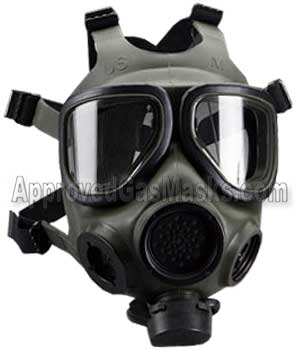 FRM40 FR M40 gas mask respirator by 3M from Approved Gas Masks