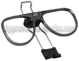 3M 6000 6700 6800 6900 gas mask spectacle frames with adjustable postition