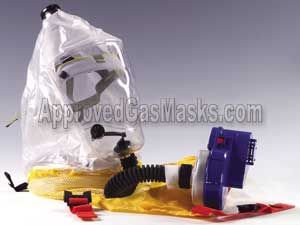 Bardas Child Safe Pro gas mask hood system