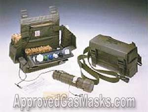 Chemical Agent Detector Kit (CAD)- NSN 6665-21-870-4964