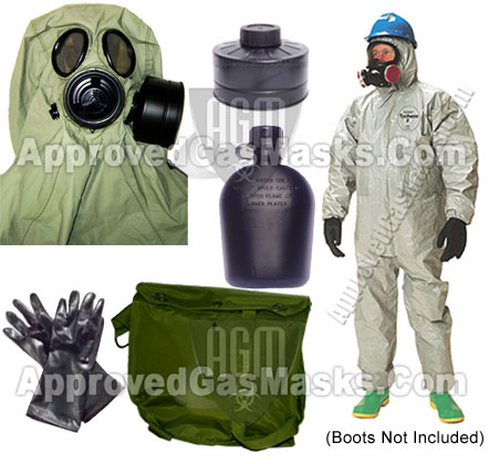 Evolution 5000 Complete Protection Kit - K1 Gas Mask / Respirator