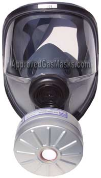 North 54400 54401 gas mask for NBC protection