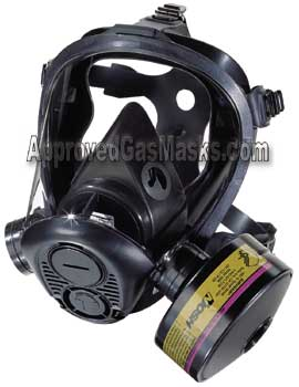 Survivair Optifit gas mask from Approved Gas Masks