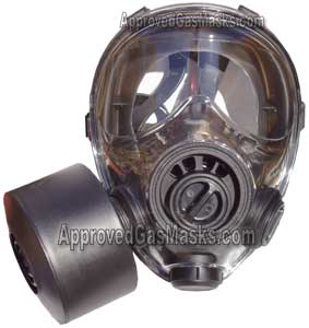 SGE 400 gas mask is NIOSH approved with an M95 filter