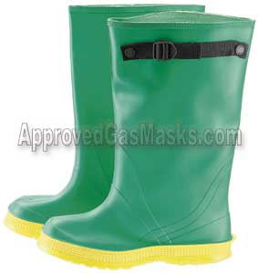 Biological and chemical heavy duty overboots