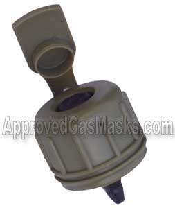 M1 canteen cap for the MSA Millennium or 3M Fr M40 gas mask