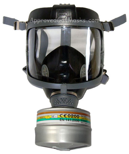 DP Gas Mask with Filter