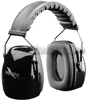 Leightning earmuffs offer ear hearing protection earmuff