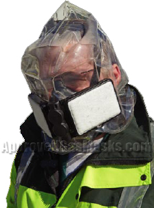 EH20 CBRN Emargency Escape Hood - Gas Mask Kit