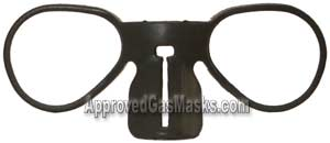 Eyeglass attachment (or holder) for Scott ProMasks and M-95 Masks
