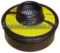 MSA Millennium NBC Gas Mask Filter Cartridge