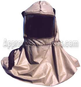 Butyl rubber hood for the First Responder escape gas mask hood