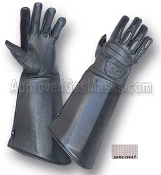 Dominator tactical duty gloves for cell extrication, riot, disturbance control