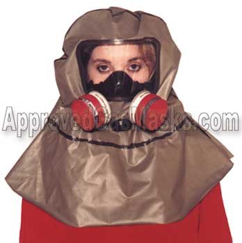 homeland defense escape hood gas mask for by neoterik