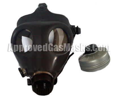 Israeli Civilian Gas Mask Kit with 40mm Type 80 NBC NATO Canister