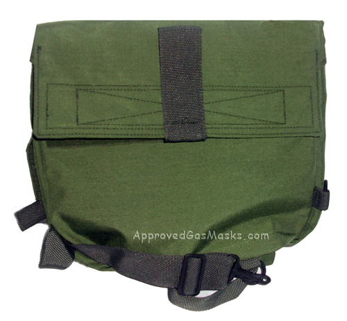 Heavey Duty Green Bag Gas Mask Pouch