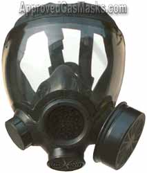 MSA Advantage 1000 NBC Gas Mask