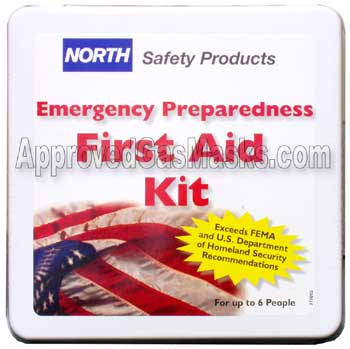 North Safety Emergency Domestic Preparedness First Aid Kit