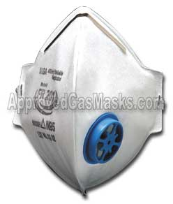 MSA Affinity FR200 FR201 foldable disposable mask