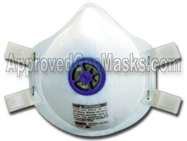 MSA Affinity Ultra disposable N100 mask with exhalation valve