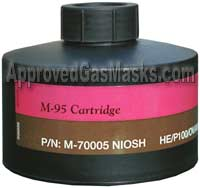 M-95 Long Life NBC Gas Mask Filter Canister