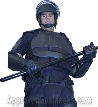 ExoTech Exo Tech hard shell disturbance riot control protective suit