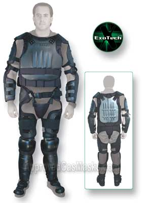 ExoTech hard shell riot control police protection