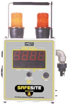 MSA SafeSite TOX VOC chemical detector units
