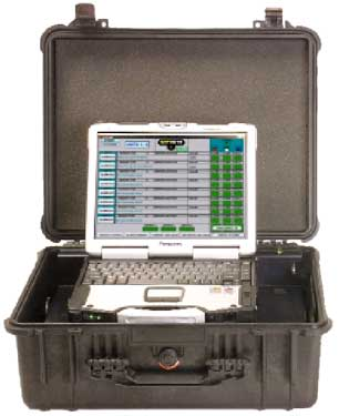 SafeCom Command Post for the SafeSite chemical detection alarm system from MSA