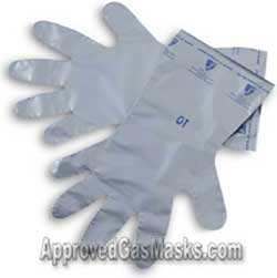 Chemical and protective gloves