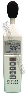 Portable handheld digital sound decibel db meter 840014
