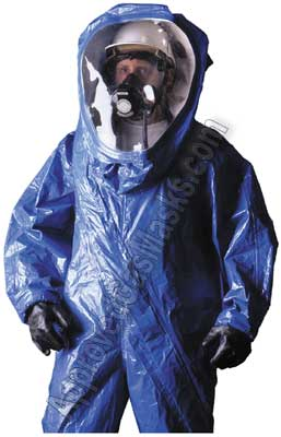 Responder Level B Chemical Suit