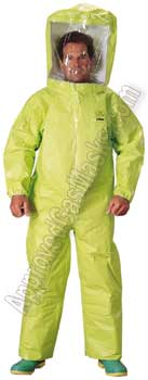 Tychem TK400 fully encapsulated chemical suits