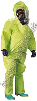 Tychem Level A TK600 chemical suits
