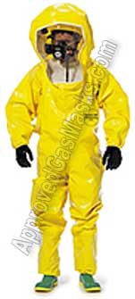 Chemical Suit, Gas mask suits and safety supply