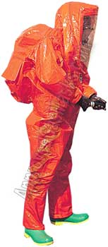 Response Plus chemical suit - Fully encapsulated kappler
