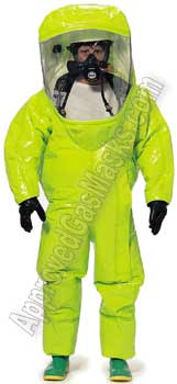 Tychem Level A TK640 TK650 chemical suits