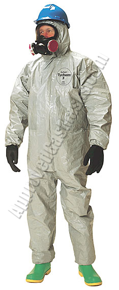 Tyvek ProTech Type F Protective Chemical Suit - Coveralls with boots and hood Pro-Tech Type-F
