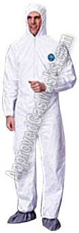 Tyvek Protective Chemical Suit
