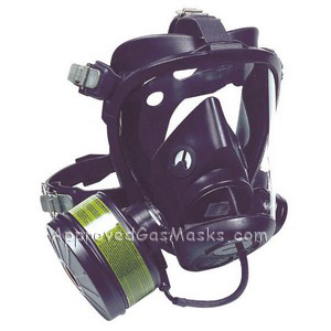 Survivair Optifit CBRN Gas Mask