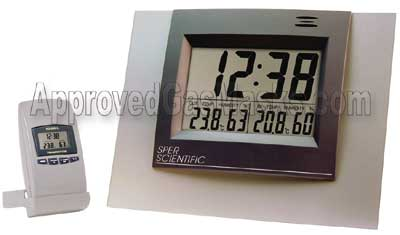 Sper Scientific wireless thermometer and hygrometer